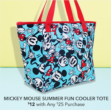 Mickey Mouse Summer Fun Cooler Tote - $12 with Any $25 Purchase
