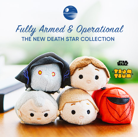 Star Wars Tsum Tsum - Fully Armed & Operational - The New Death Star Collection