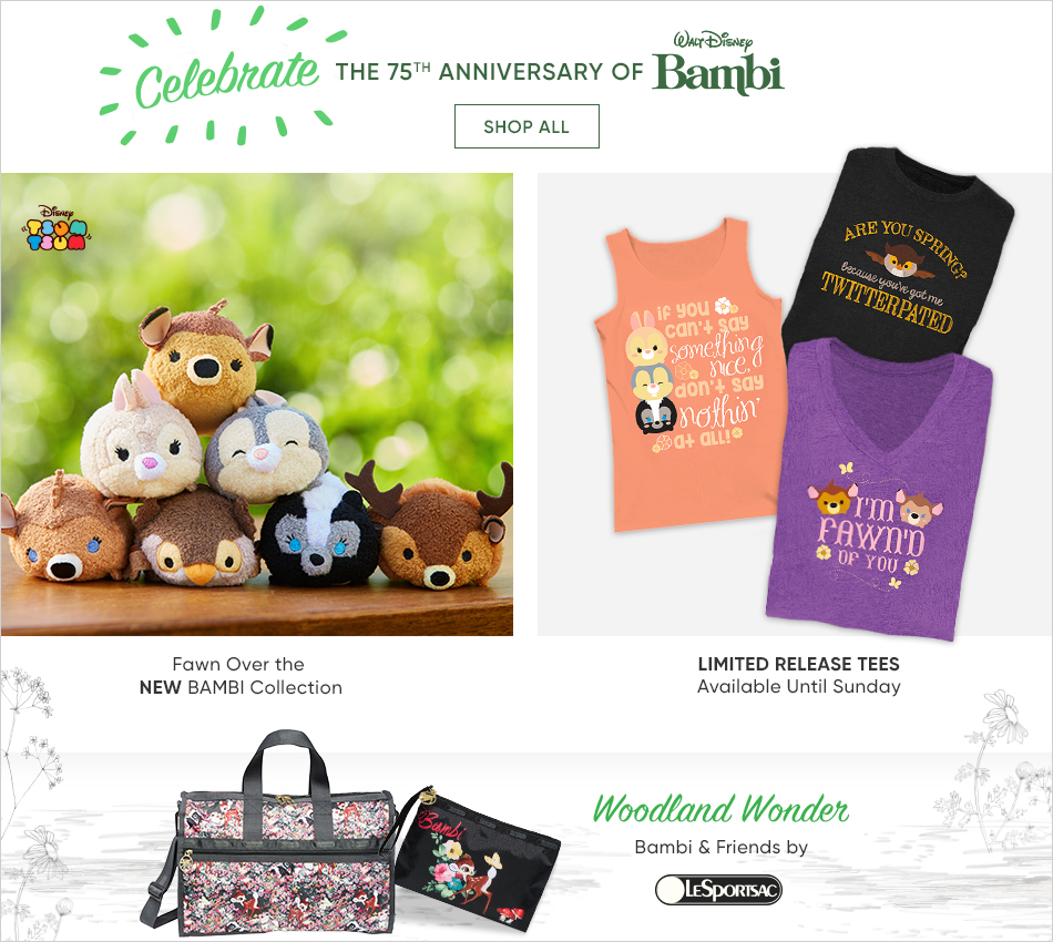 Celebrate the 75th Anniversary of Bambi