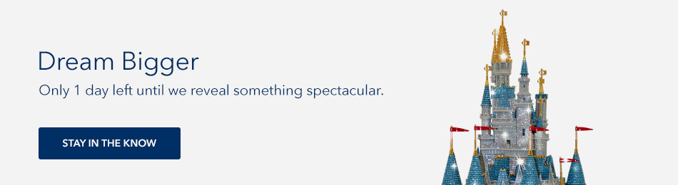 Dream Bigger - Something spectacular is coming soon - Stay in the know
