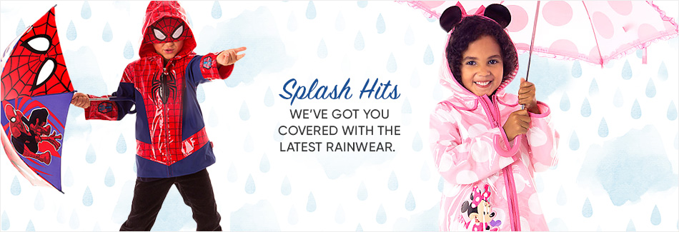 Splash Hits - We've Got You Covered with the Latest Rainwear