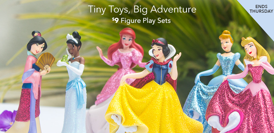 Tiny Toys, Big Adventure - $9 Figure Play Sets - Ends Thursday