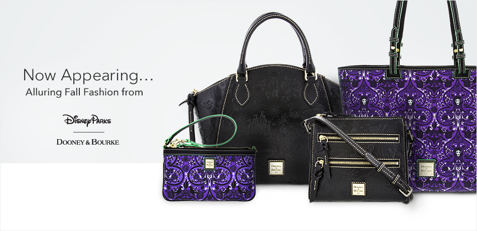 Now Appearing... Alluring Fall Fashion from Disney Parks - Dooney & Bourke