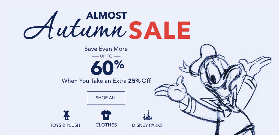 Almost Autumn Sale - Up to 50% Off - New Markdowns