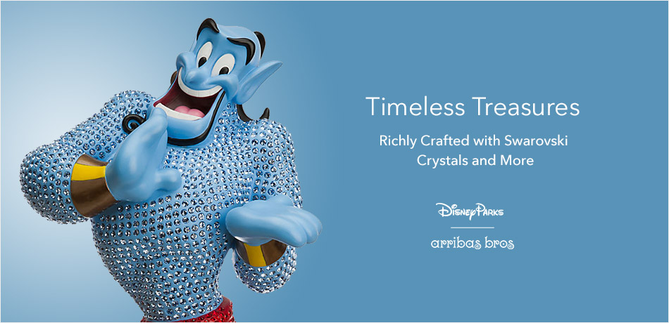 Timeless treasure richly crafted with Swarovski crystals and more. - Disney Parks - Arribas Bros