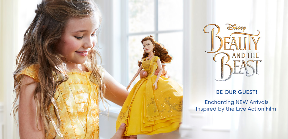 Disney Beauty and the Beast - Be our guest! Enchanting NEW Arivals Inspired by the Live Action Film