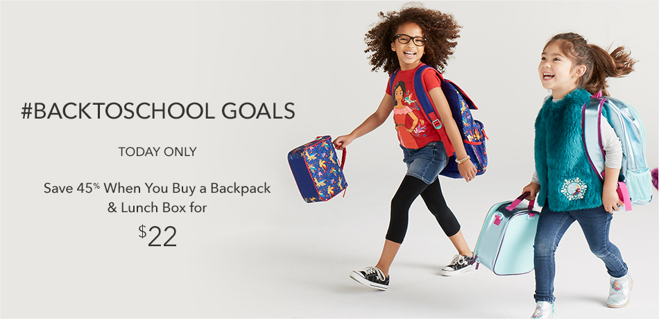#Backtoschool Goals - A gold star is in the bag... and lunch box. - Today Only $22 - Buy one of each to save 45%