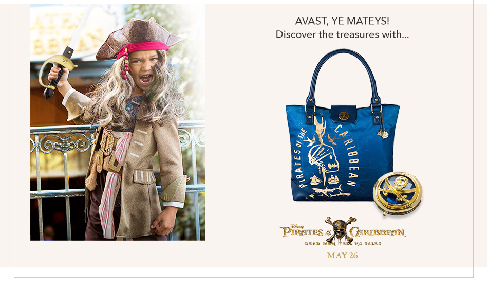 Avast, Ye Mateys! Discover the treasures within... Pirates of the Caribbean - Dead Men Tell No Tales - May 26