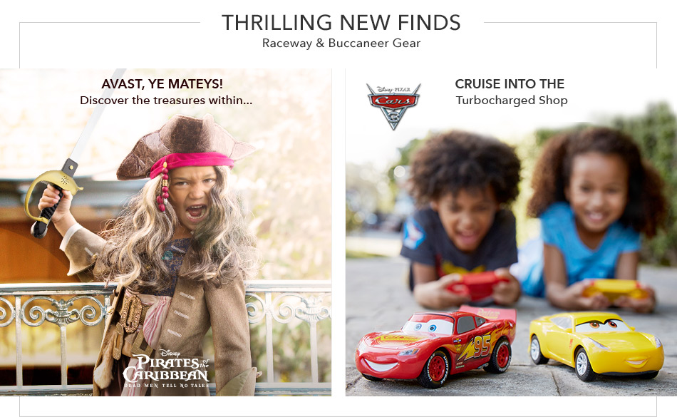 Thrilling New Finds - Raceway & Buccaneer Gear