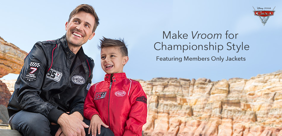 Make Vroom for Championship Style - Featuring Members Only Jackets