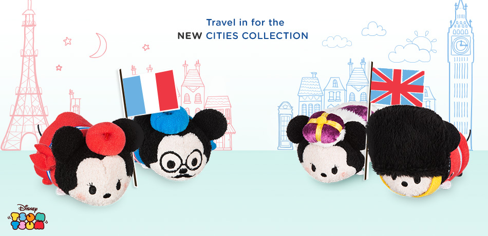 Disney Tsum Tsum - Travel in for the New Cities Collection