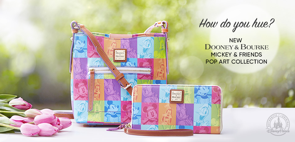 Now Do You Hue? New Dooney & Bourke Mickey & Friends Pop Art Collection