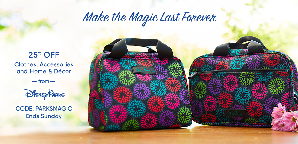Make the Magic Last Forever - 25% Off Clothes, Accessories and Home & Decor from Disney Parks - CODE: PARKSMAGIC - Ends Sunday