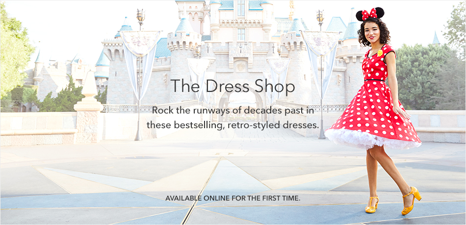 The Dress Shop - Rock the runways of decades past in these bestselling, retro-styled dresses. - Available Online for the First Time