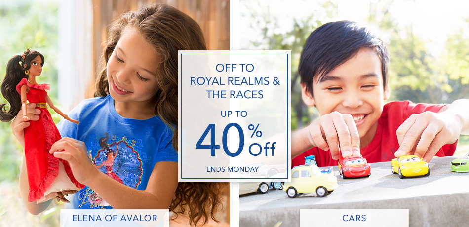 Off to Royal Realms & The Races - Up to 40% Off - Ends Monday