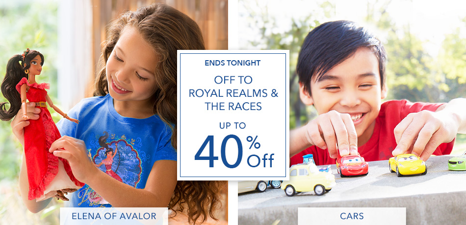 Off to Royal Realms & The Races - Up to 40% Off - Ends Tonight