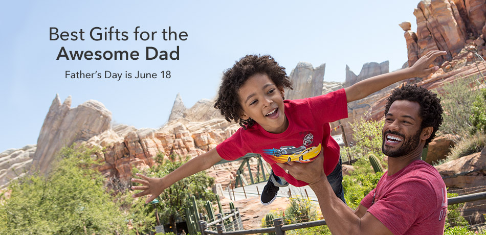 Dad never lets you down - Father's Day is June 18