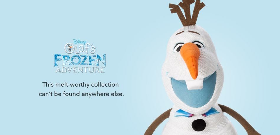 Olaf's Frozen Adventure - This melt-worthy collection can't be found anywhere else.