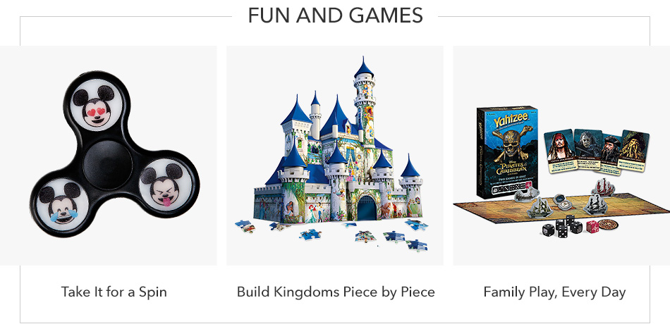 Fun and Games - Take it for a Spin - Build Kingdoms Piece by Piece - Family Play, Every Day