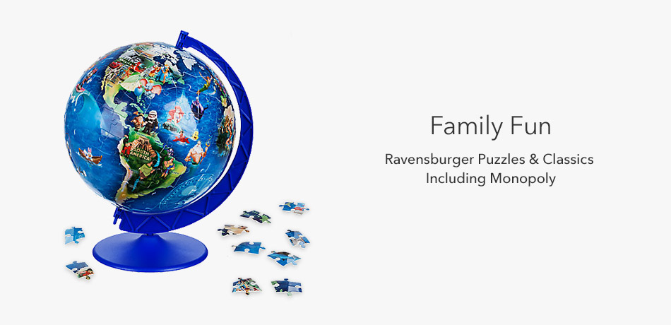 Family Fun - Ravensberge Puzzles & Classics Including Monopoly
