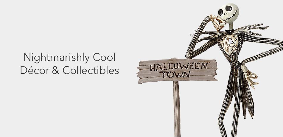 Nightmarishly cool decor & collectibles