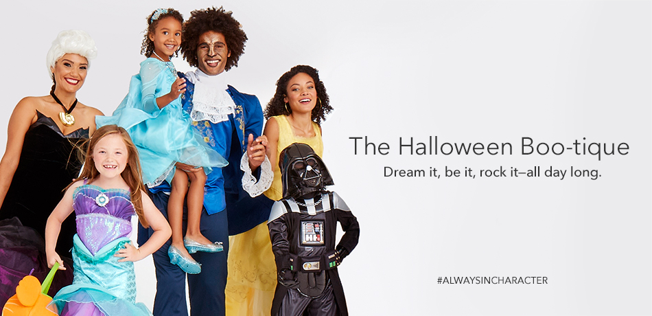 The Halloween Boo-tique - Dream it be it rock it all day long - #ALWAYSINCHARACTER