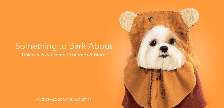 Something to bark about - Unleash Paw-esome costumes & more - #NATIONALDOGDAY is August 26