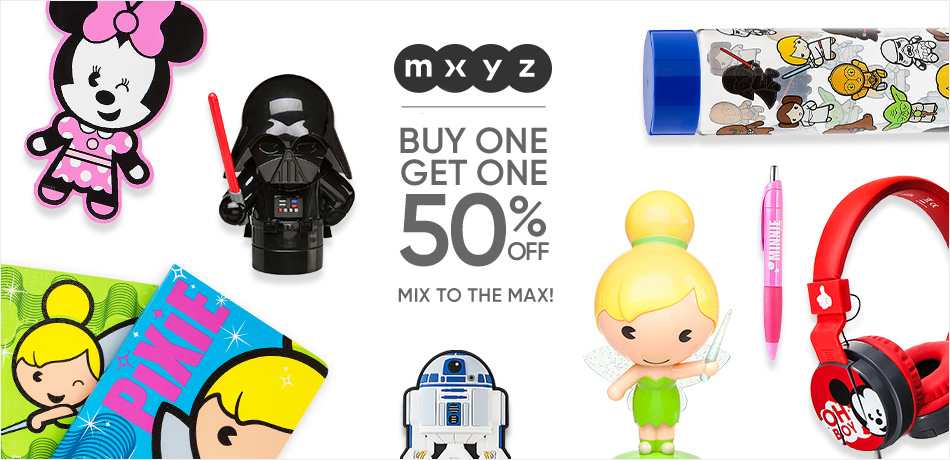 MXYZ - Buy One, Get One 50% Off - Mix to the Max!