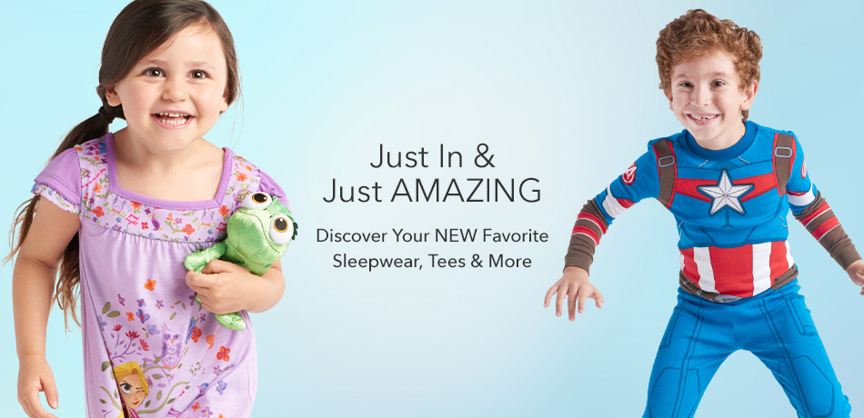 Just In & Just Amazing - Discover Your NEW Favorite Sleepwear, Tees & More