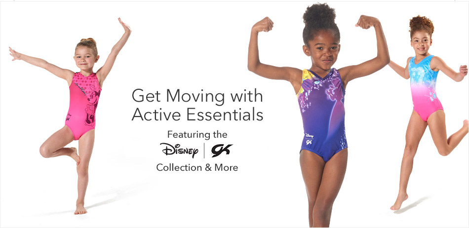 Get Moving with Active Essentials - Featuring the Disney | GK Collection & More