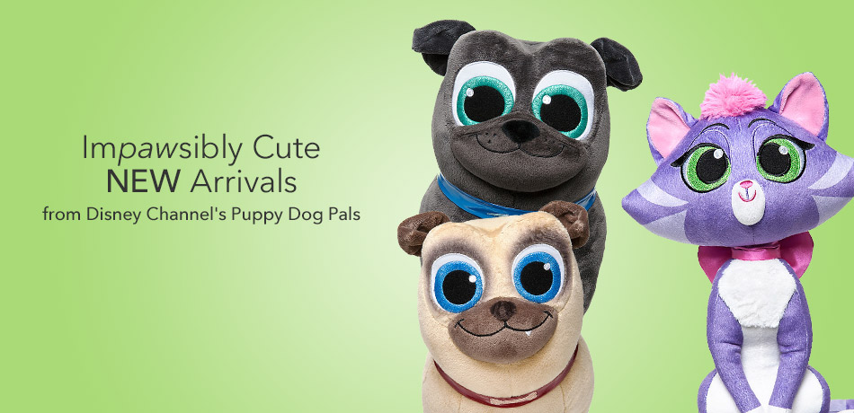 Impawsibly Cute New Arrivals from Disney Channel's Puppy Dog Pals