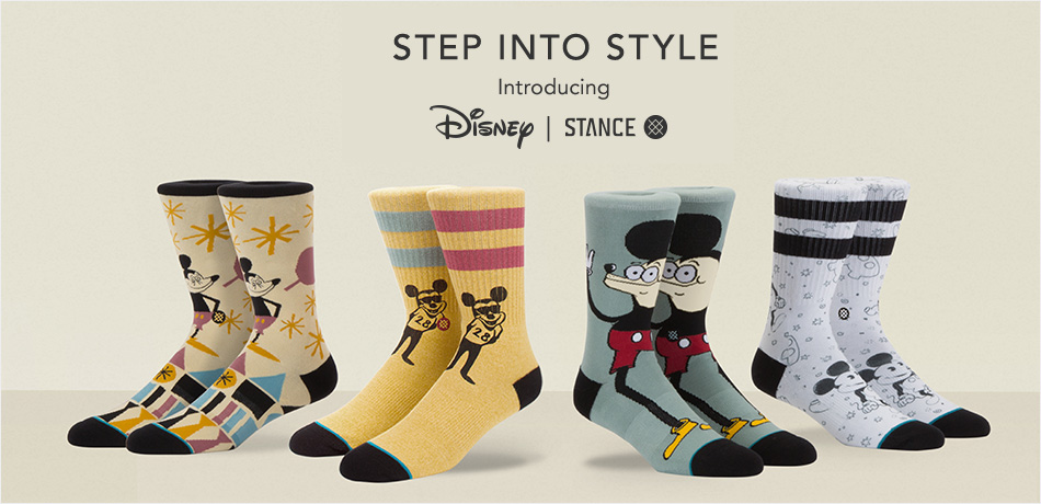 Step Into Style - Introducing Disney | Stance