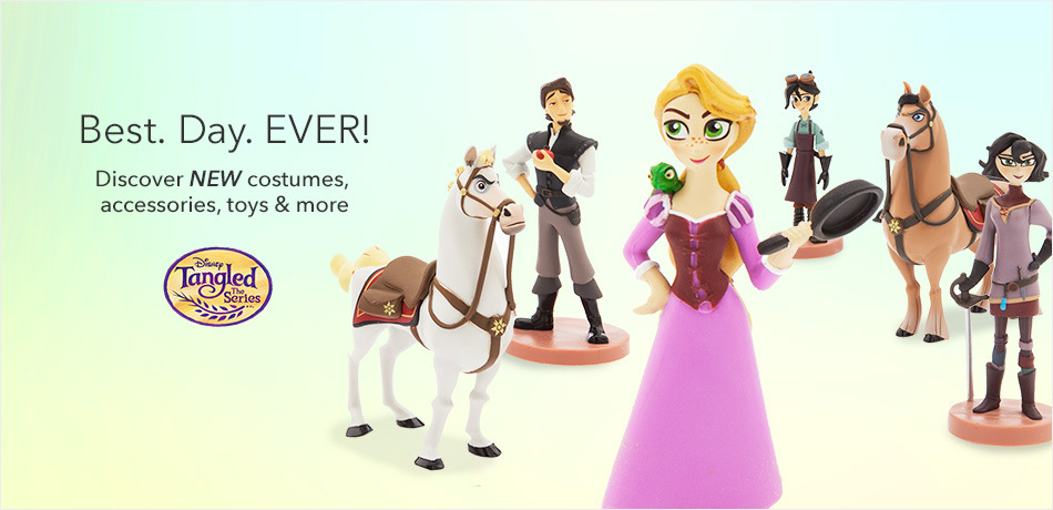Best. Day. Ever! - Discover NEW costumes, accessories, toys & more - Tangled: The Series