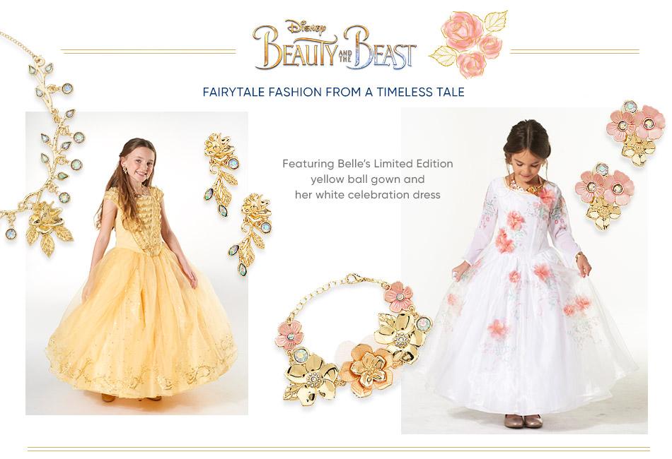 Beauty and the Beast - Featuring Belle's Limited Edition yellow ball gown and her white celebration dress