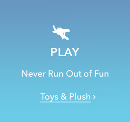 Play - Never Run Out of Fun - Toys & Plush