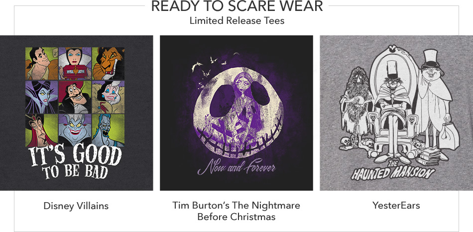 Ready to Scare Wear - Limited Release Tees