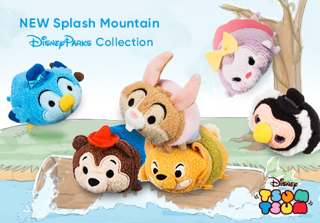 Disney Tsum Tsum - New Splash Mountain Disney Parks Collection