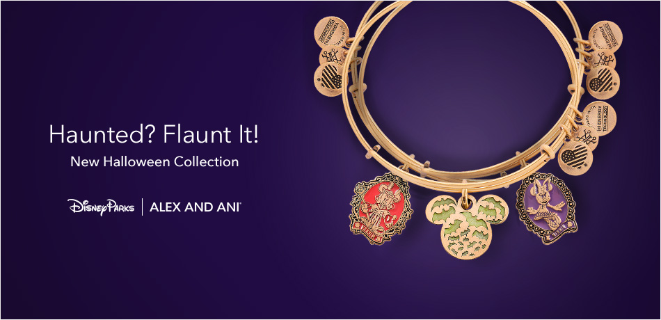 Haunted? Flaunt It! New Halloween Collection - Disney Parks - Alex and Ani