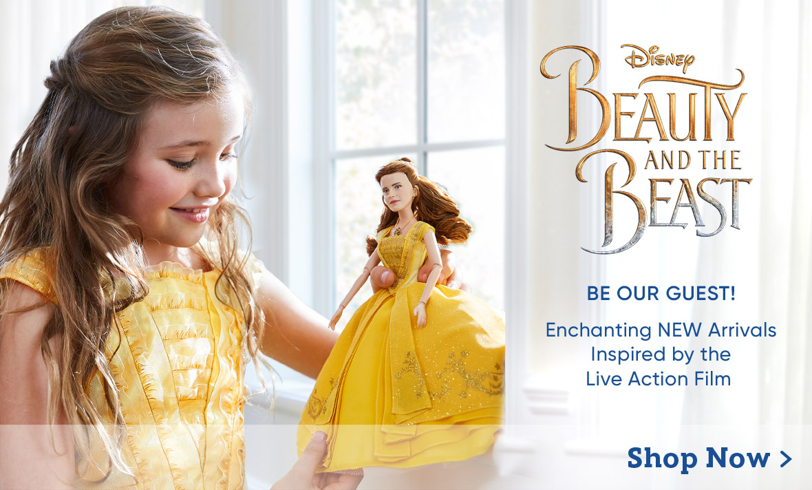 New Arrivals Beauty & the Beast
