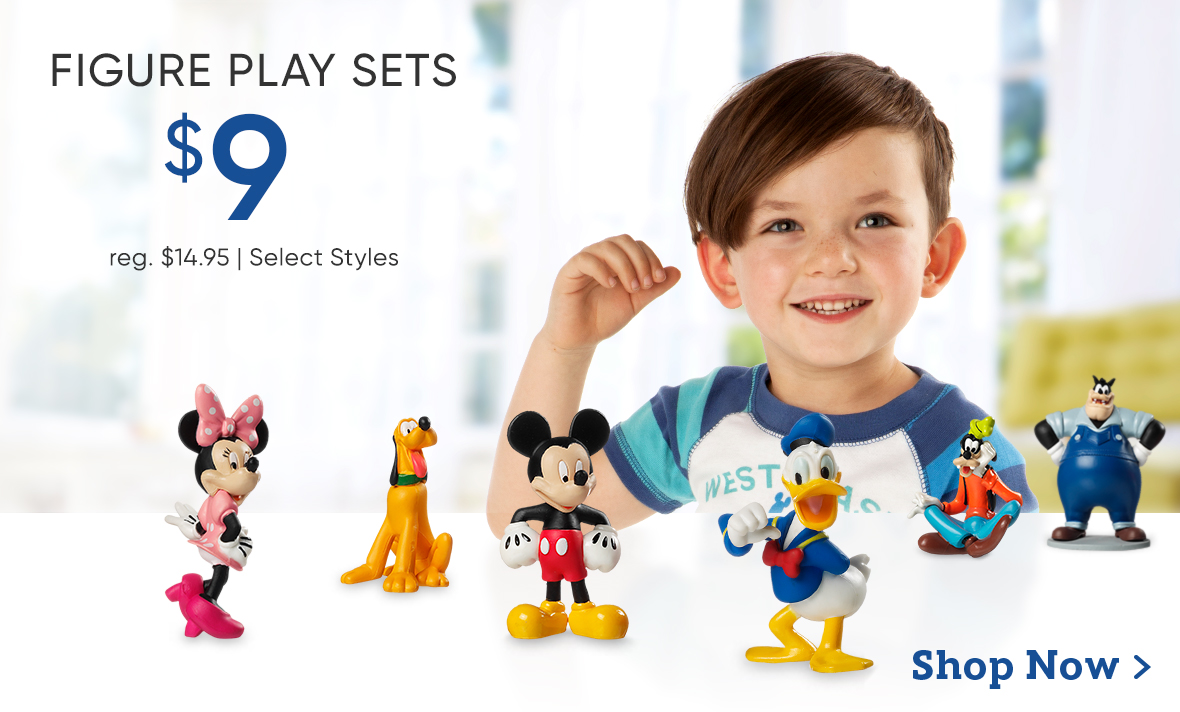 $9 Figure Play Sets