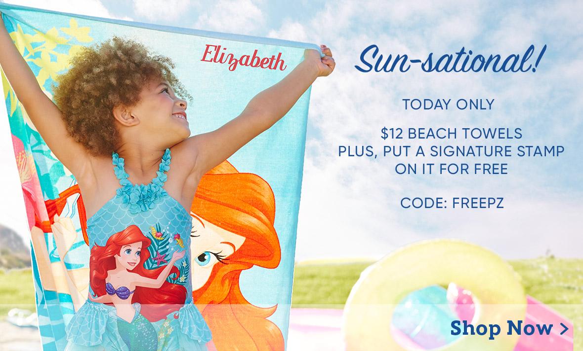 $12 Beach Towels