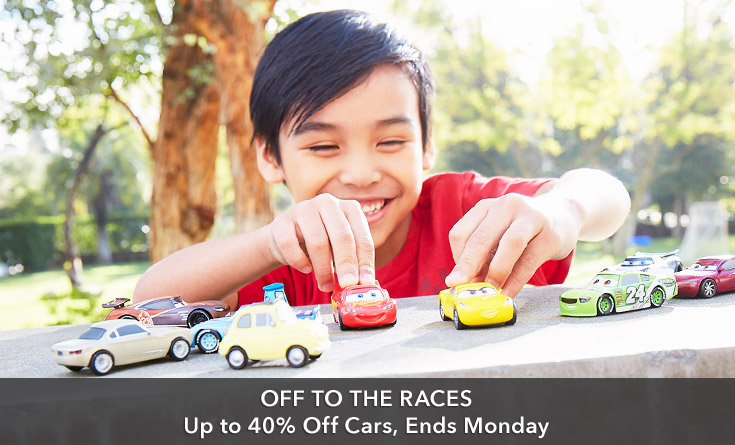 Cars Up to 40% Off