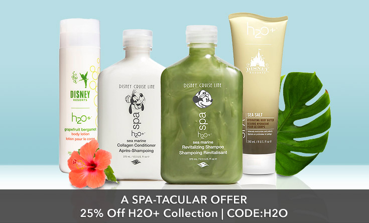 25% Off H2O+ Collection