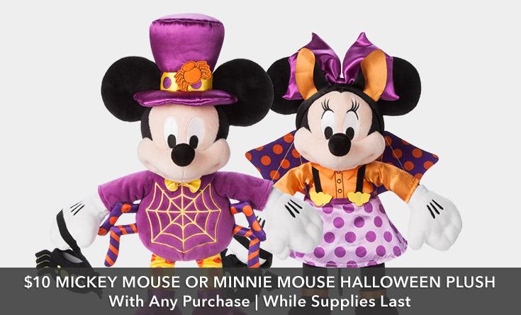 Mickey & Minnie Treat or Treat Bag PWP