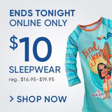 $10 Sleepwear