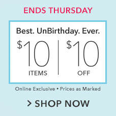 $10 Items and $10 Off Items Sale