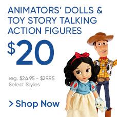 $20 Toy Story Talking Action Figures & Animators' Dolls