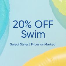 20% Off Swim Styles