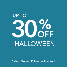 Up to 30% Off Halloween Styles