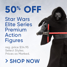 50% Off Star Wars Elite Series Premium Action Figures
